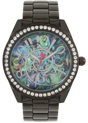 Betsey Johnson Women's Swirl Bracelet Watch, 40mm