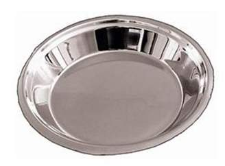 Lindy's 5M871 9 Inch Stainless Steel Pie Pan