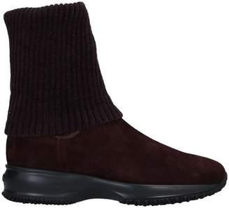 c406d90b3a Hogan Brown Ankle Boots For Women - ShopStyle UK