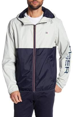 Tommy Hilfiger Colorblock Hooded Rain Jacket
