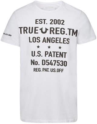True Religion Printed Cotton T-Shirt