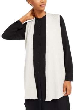 Eileen Fisher Long Sweater Vest
