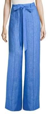 Milly Hayden Linen Pants