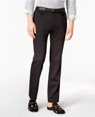 INC International Concepts I.n.c. Men's Shiny Slim-Fit Stretch Pants, Created for Macy's