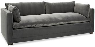 Robin Bruce Ellice Sofa - Charcoal Velvet