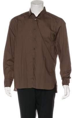 Lanvin Grosgrain-Trimmed Shirt