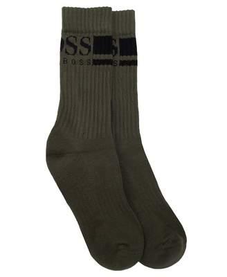BOSS Underwear Rib Logo Sports Socks