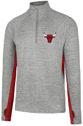 '47 Men's Chicago Bulls Evolve Forward Quarter-Zip Pullover