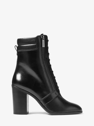MICHAEL Michael Kors Rosario Leather Ankle Boot