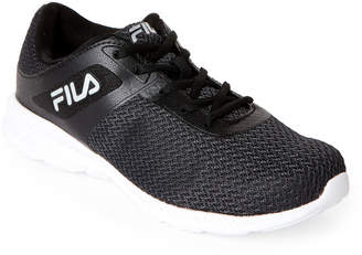 Fila Black & White Memory Skip Running Sneakers