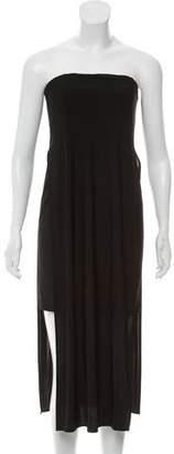 Helmut Lang Strapless Knee-Length Dress w/ Tags