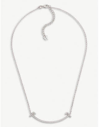 Folli Follie My FF sterling silver and cubic zirconia necklace
