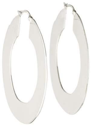 Celine Plate Hoop Earrings