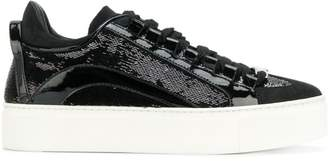 DSQUARED2 sequin-embellished sneakers
