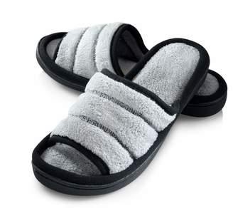 d24c663dc78 Joan Vass Roxoni Womens open toe terry slippers (Large