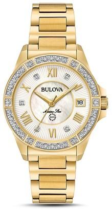 Bulova Marine Start Watch, 32mm $595 thestylecure.com