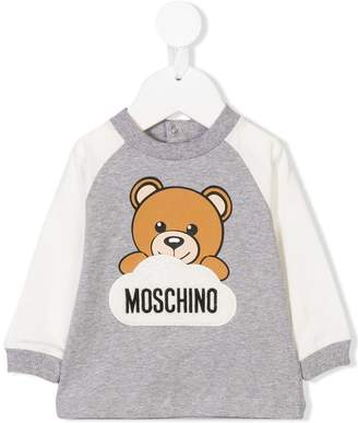 Moschino Kids teddy bear logo sweatshirt