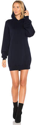 Cotton Citizen The Milan Backless Hoodie Dress