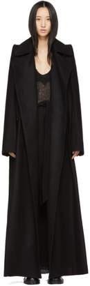 Ann Demeulemeester Black Dexter Coat