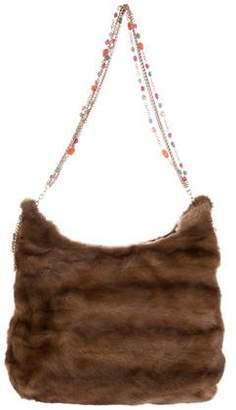 Oscar de la Renta Mink Shoulder Bag