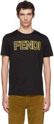 Fendi Black Logo T-Shirt