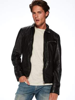 Scotch & Soda Lightweight Leather Jacket
