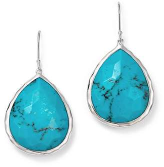 Ippolita Large Single Teardrop Earring in Turquoise
