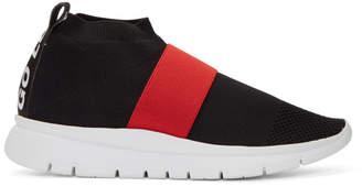 Joshua Sanders Black Go High Sneakers