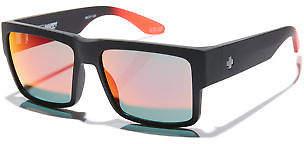 SPY New Men's Cyrus Happy Lens Sunglasses Soft 100% Uv Protection Black