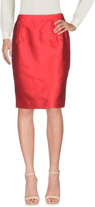 Alberto Biani Knee length skirts