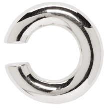 Saskia Diez Silver Bold Open Ear Cuff