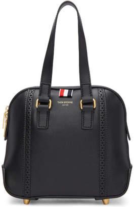 Thom Browne Black Miss Thom Brogue Mini Duffle Bag