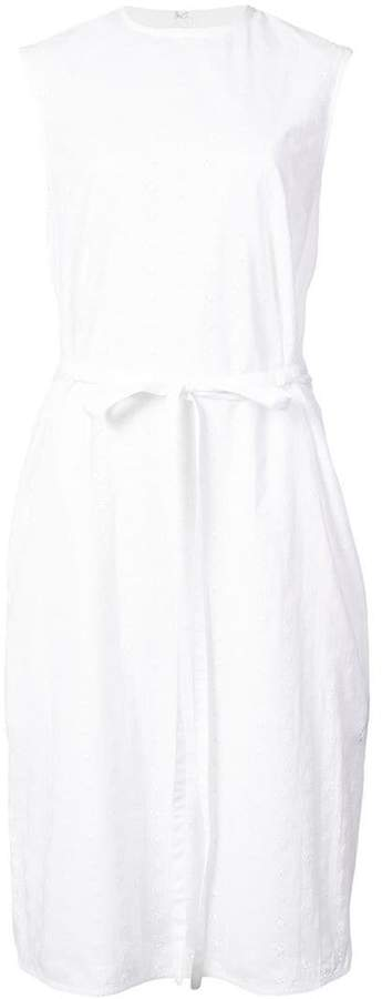 Calvin Klein 205W39nyc embroidered belted dress