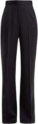 Stella McCartney Wide-leg high-rise wool trousers