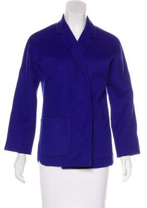 Max Mara Wool Open Front Jacket