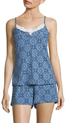 EMILY AND JANE Two-Piece Printed Cami Short Pyjamas