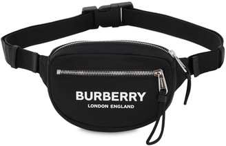 Burberry Mini Cannon Logo Tech Belt Bag