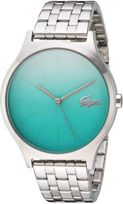 Lacoste Women's 2000994 Fashion Nikita - 3h Ss Bracelet and Case with Light Blue Dial Watch