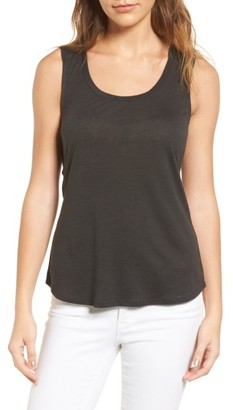 Women's Trouve Twist Back Top $49 thestylecure.com