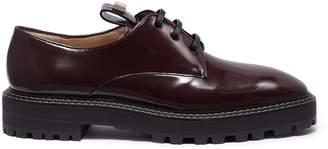 Stuart Weitzman 'Jesper' patent leather Derbies