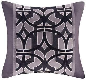 Natori N Abstract Stripe Square Pillow