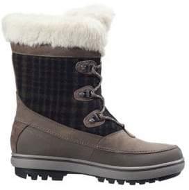 Helly Hansen Georgina Faux Fur-Trimmed Waterproof Winter Boots