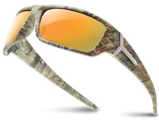 Shark Eyes INC RealTree Xtra Camouflage Print Hunting Fishing Polarized Sport Sunglasses