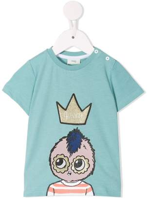 Fendi crown T-shirt