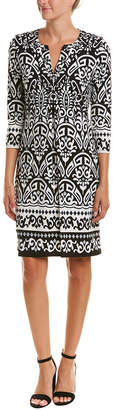Hale Bob 3/4-Sleeve Shift Dress