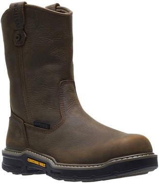 Wolverine Mens Bandit Waterproof Slip Resistant Pull-on Work Boots
