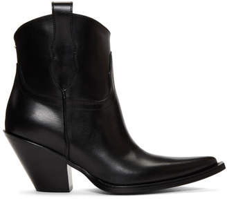 Maison Margiela Black Low Mexas Boots