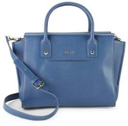 Furla Linda Caryall Leather Satchel