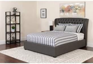Alcott Hill Angie Tufted Upholstered Platform Bed Mattress Alcott Hill