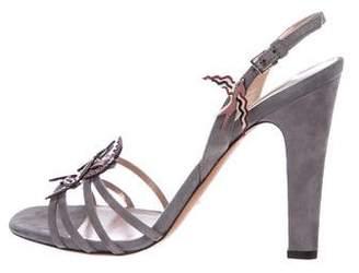 Valentino Embellished Ankle Strap Sandal w/ Tags